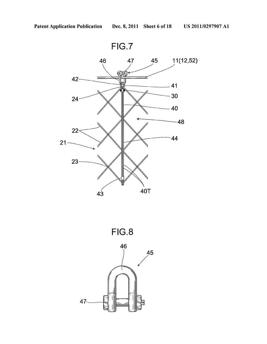 SHOCK-ABSORBING DEVICE FOR NET BODY OF GUARD FENCE - diagram, schematic, and image 07