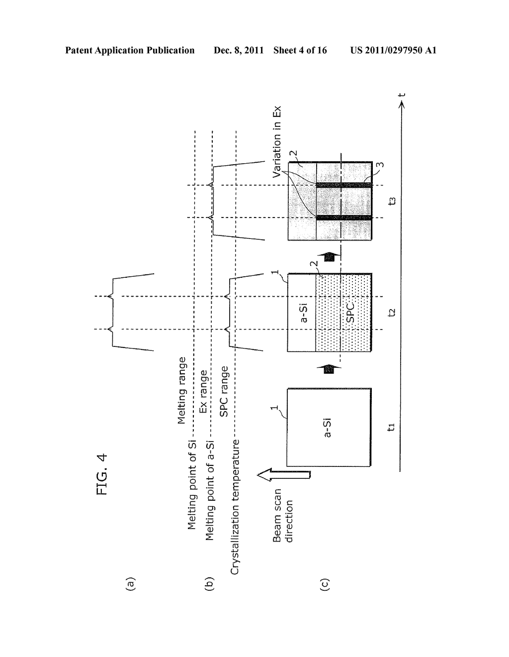 CRYSTALLINE SEMICONDUCTOR FILM MANUFACTURING METHOD, SUBSTRATE COATED WITH     CRYSTALLINE SEMICONDUCTOR FILM, AND THIN-FILM TRANSISTOR - diagram, schematic, and image 05