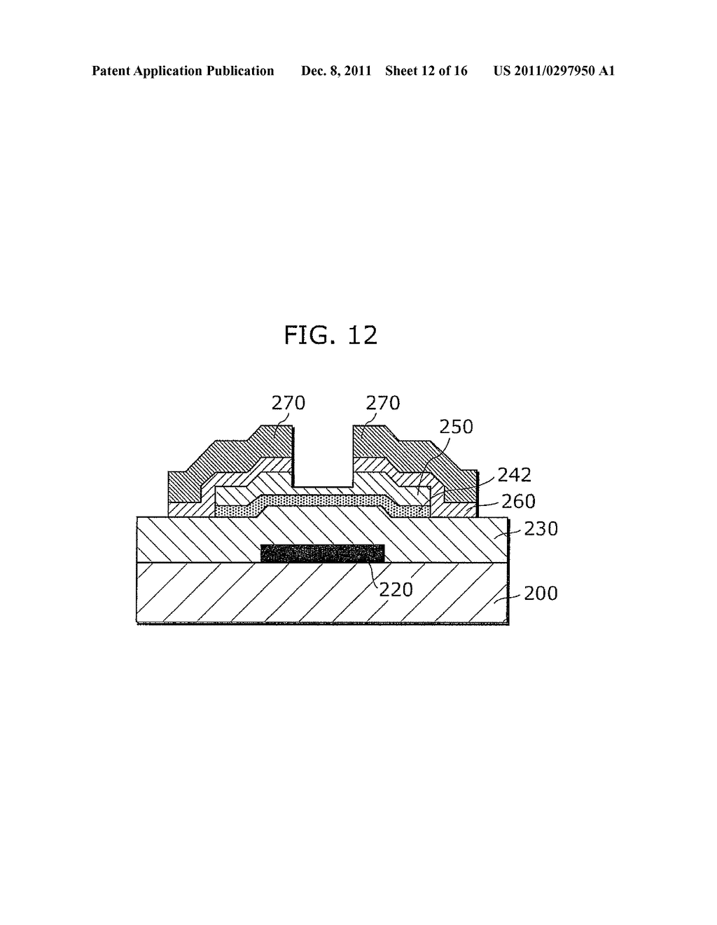 CRYSTALLINE SEMICONDUCTOR FILM MANUFACTURING METHOD, SUBSTRATE COATED WITH     CRYSTALLINE SEMICONDUCTOR FILM, AND THIN-FILM TRANSISTOR - diagram, schematic, and image 13