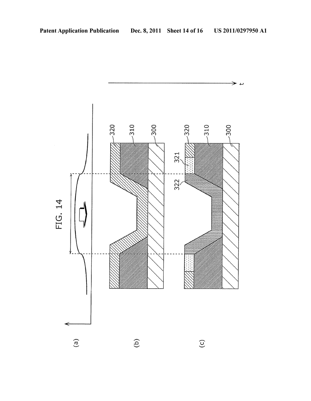 CRYSTALLINE SEMICONDUCTOR FILM MANUFACTURING METHOD, SUBSTRATE COATED WITH     CRYSTALLINE SEMICONDUCTOR FILM, AND THIN-FILM TRANSISTOR - diagram, schematic, and image 15