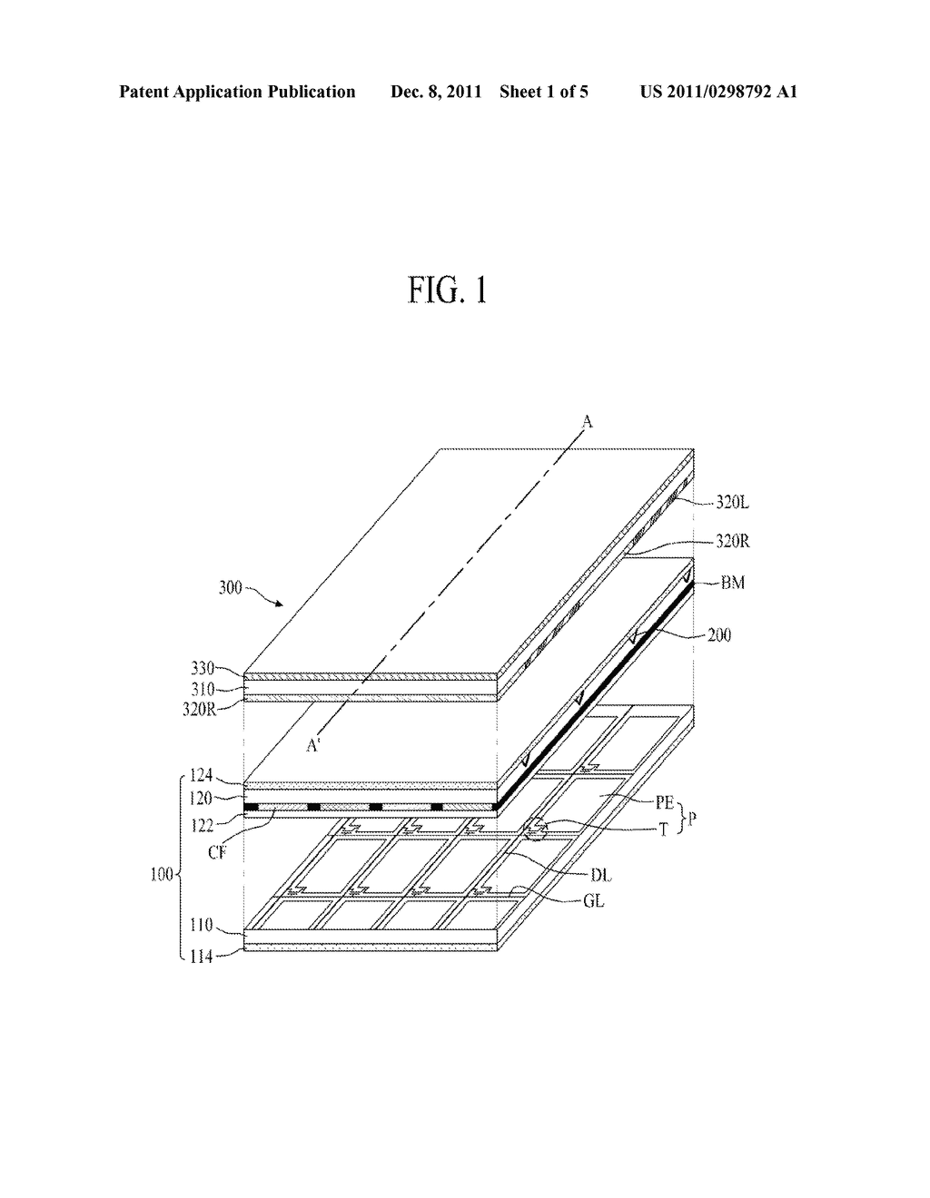 STEREOSCOPIC IMAGE DISPLAY DEVICE AND METHOD FOR MANUFACTURING THE SAME - diagram, schematic, and image 02