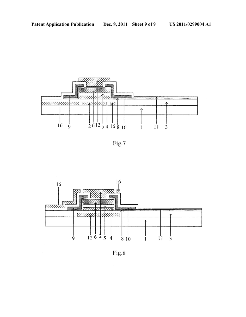 ARRAY SUBSTRATE AND MANUFACTURING METHOD THEREOF - diagram, schematic, and image 10