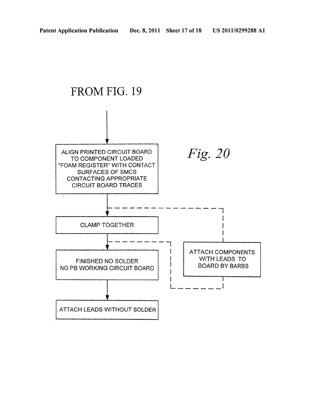 Solder and Lead Free Electronic Circuit and Method of Manufacturing Same - diagram, schematic, and image 18