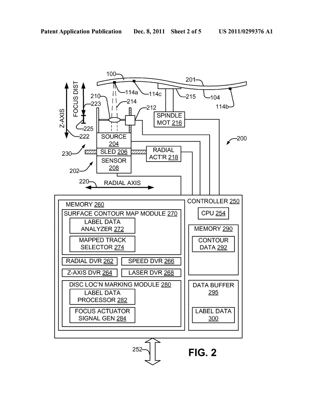 FORMING A VISIBLE LABEL ON AN OPTICAL DISC - diagram, schematic, and image 03