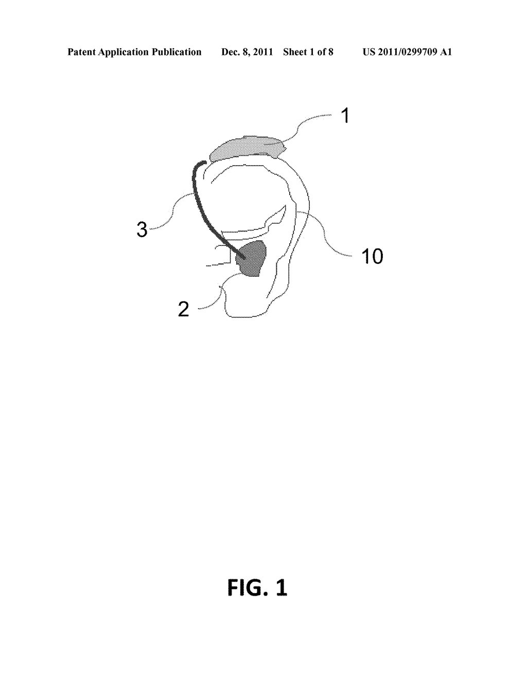 HEARING SYSTEM AND METHOD AS WELL AS EAR-LEVEL DEVICE AND CONTROL DEVICE     APPLIED THEREIN - diagram, schematic, and image 02