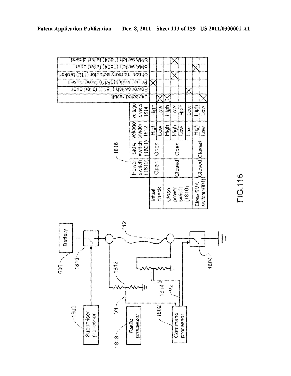 METHOD AND SYSTEM FOR SHAPE-MEMORY ALLOY WIRE CONTROL - diagram, schematic, and image 114