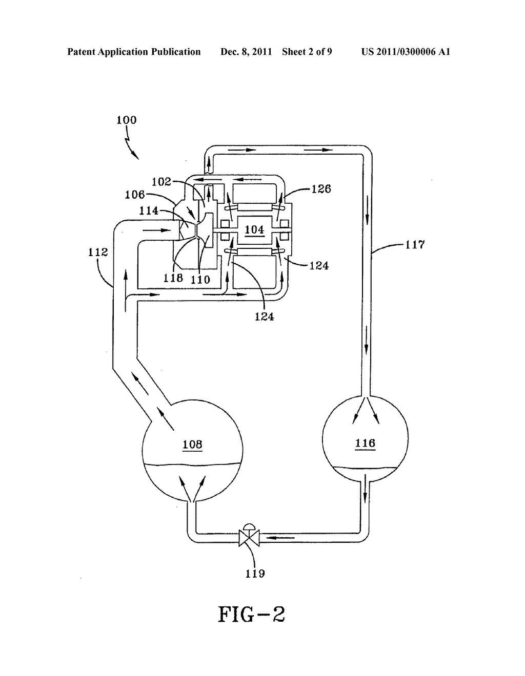 SYSTEM AND METHOD FOR COOLING A COMPRESSOR MOTOR - diagram, schematic, and image 03
