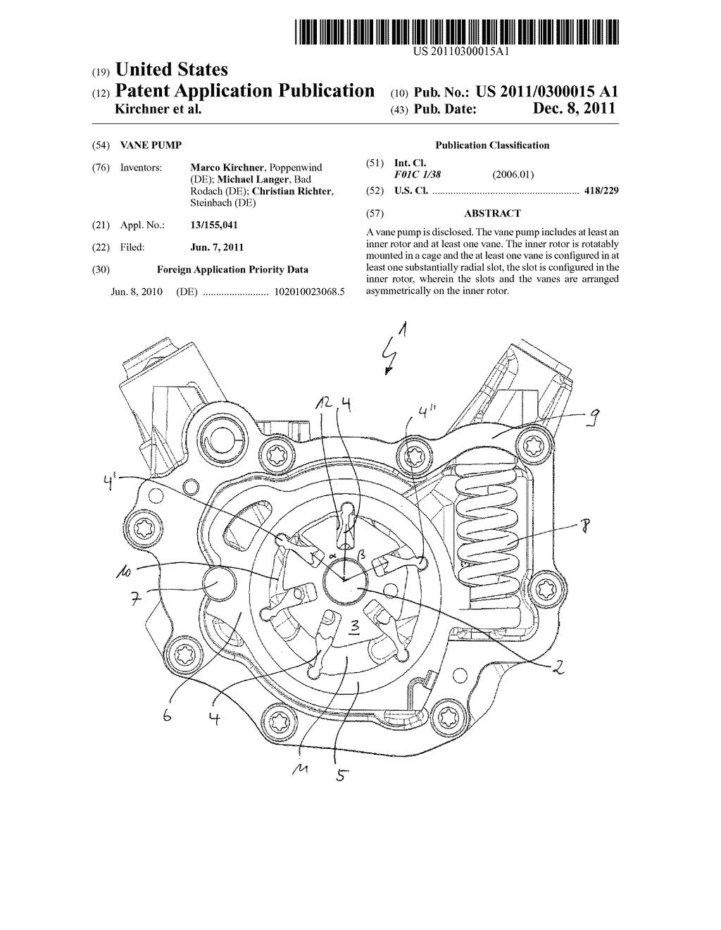 Vane Pump Diagram Vane Pump Diagram Schematic