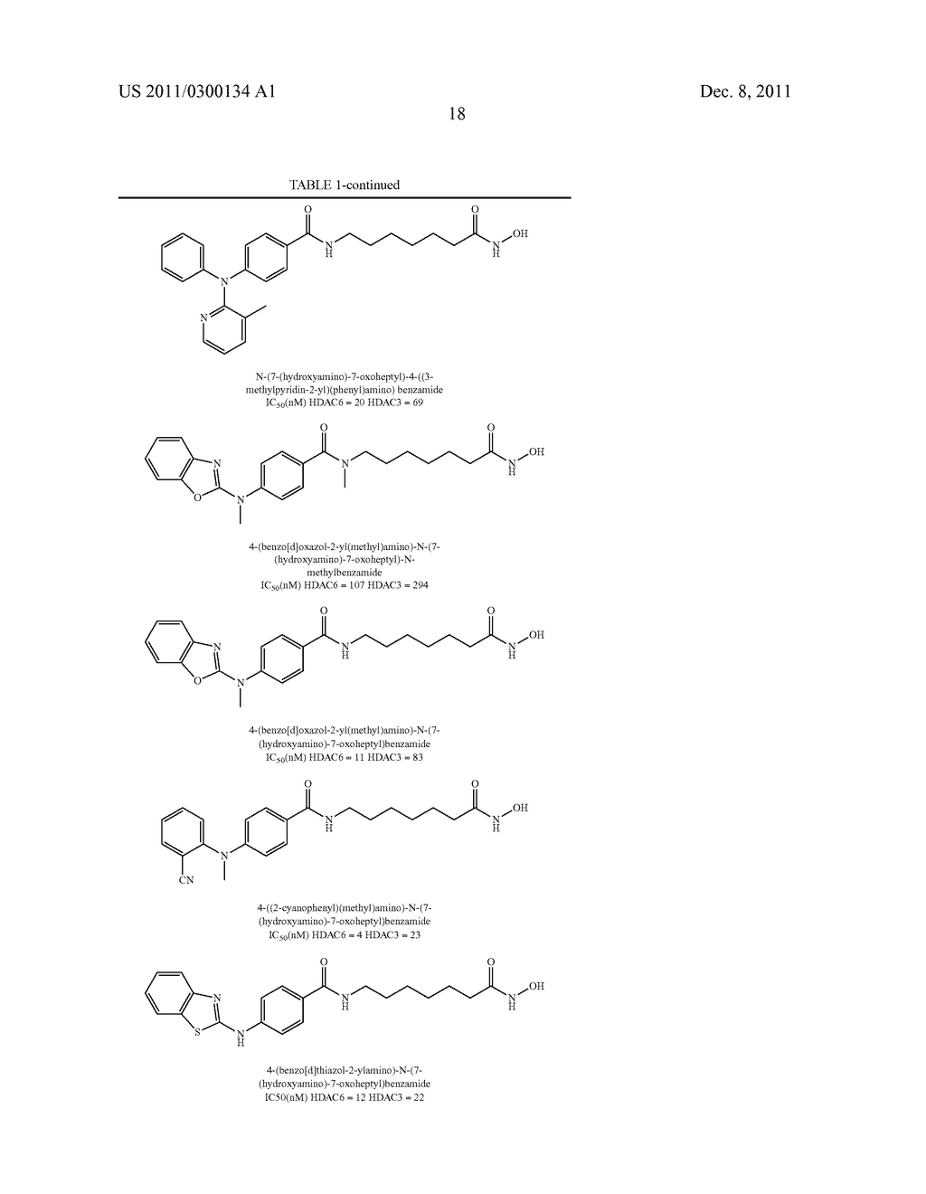 REVERSE AMIDE COMPOUNDS AS PROTEIN DEACETYLASE INHIBITORS AND METHODS OF     USE THEREOF - diagram, schematic, and image 19