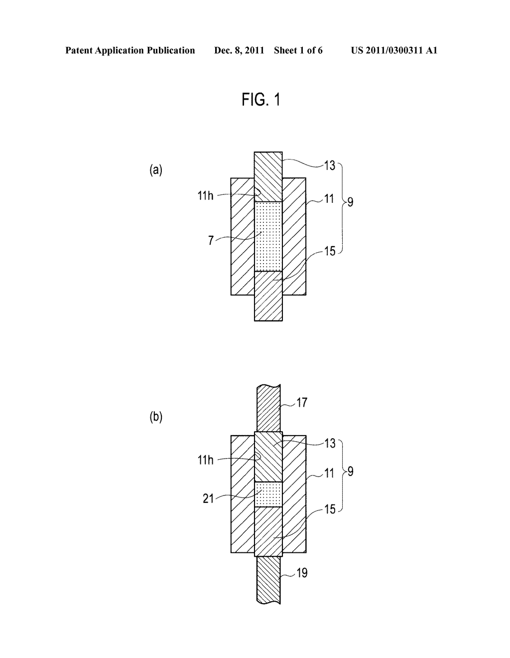 PRODUCTION METHOD OF ELECTRODE AND DISCHARGE SURFACE TREATMENT THEREWITH - diagram, schematic, and image 02