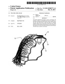 Wig for a Doll Head diagram and image