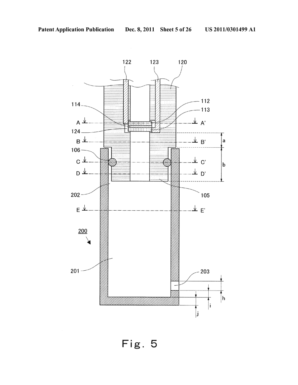 BODY FLUID SAMPLING DEVICE AND BODY FLUID MEASURING DEVICE USING THE SAME - diagram, schematic, and image 06