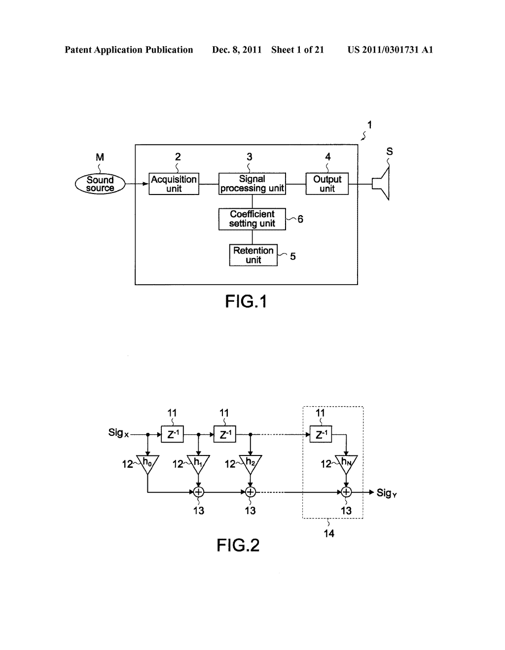 AUDIO SIGNAL PROCESSING APPARATUS AND AUDIO SIGNAL PROCESSING METHOD - diagram, schematic, and image 02