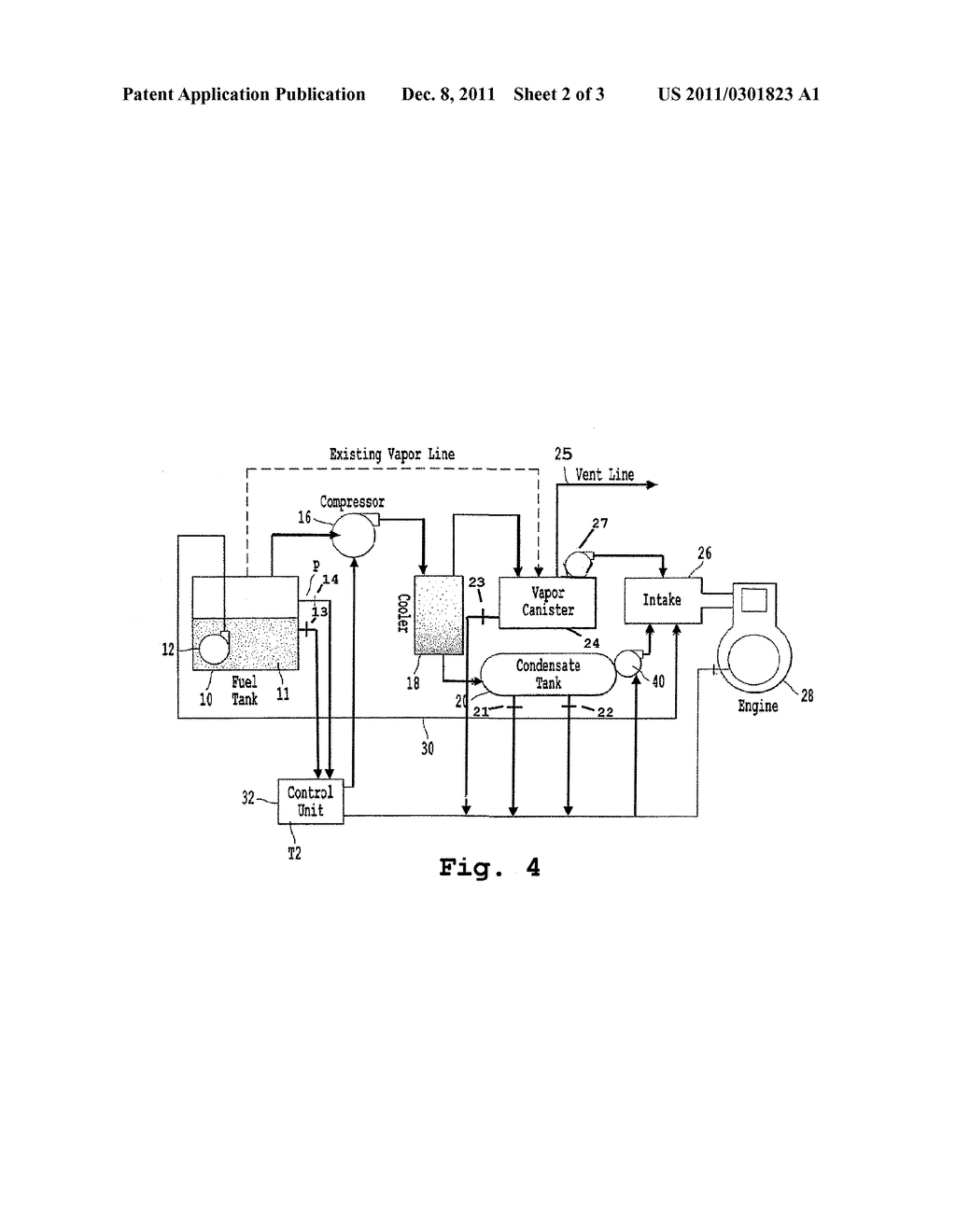ON-BOARD VAPOR RECOVERY SYSTEM AND APPARATUS - diagram, schematic, and image 03