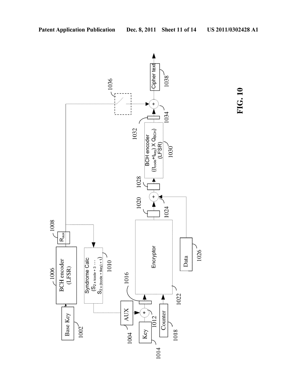 METHOD, SYSTEM AND MEDIUM FOR ANALOG ENCRYPTION IN A FLASH MEMORY - diagram, schematic, and image 12