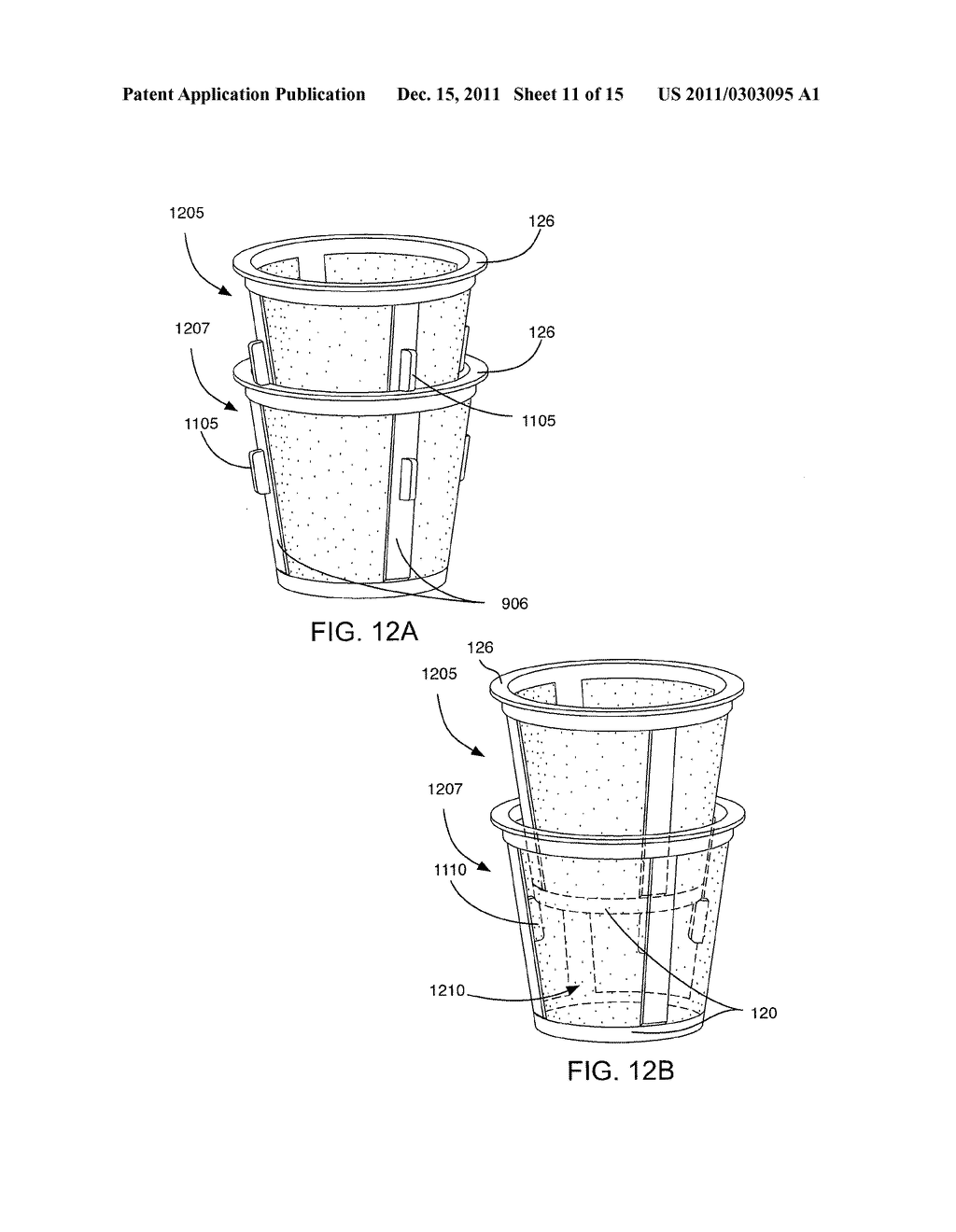 DISPOSABLE SINGLE USE BEVERAGE PACKAGE - diagram, schematic, and image 12