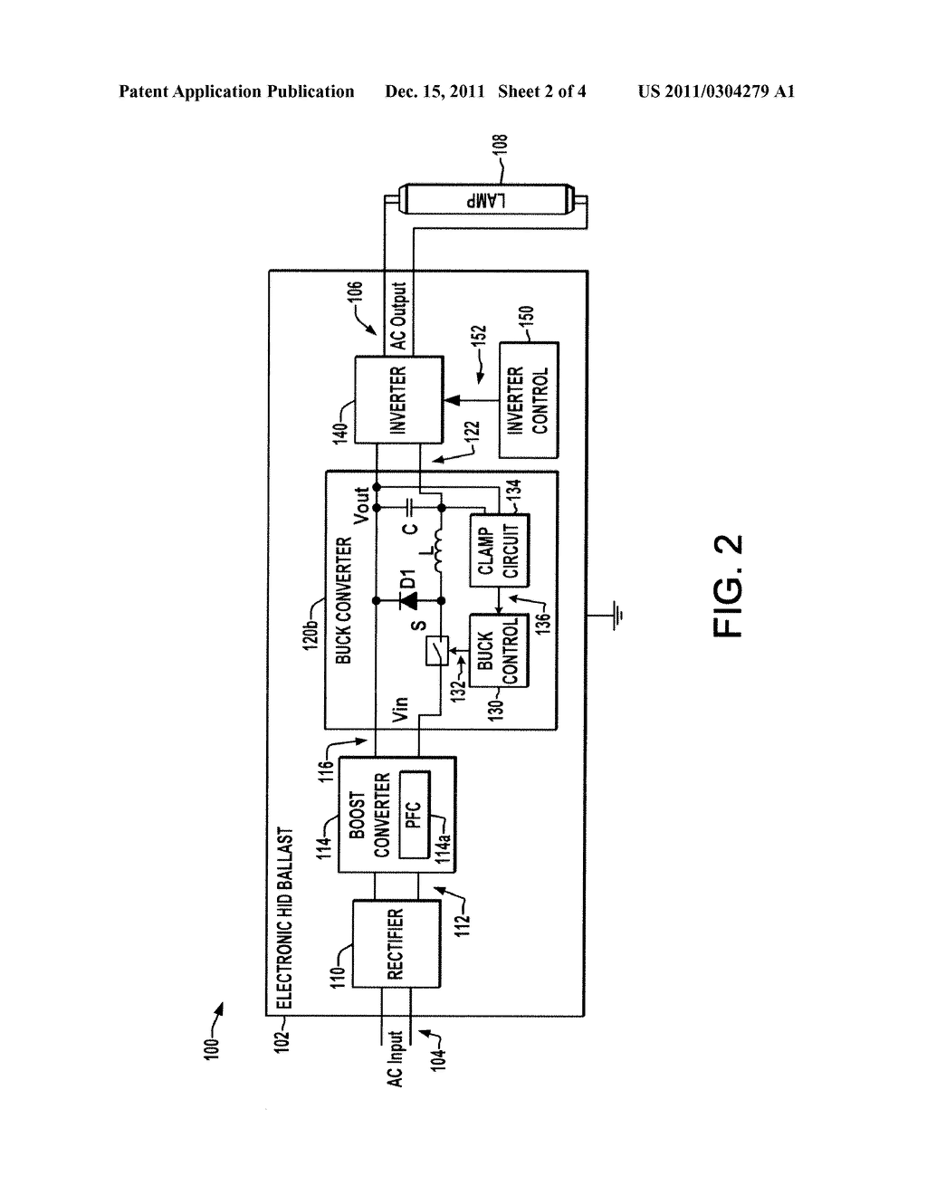 Open Circuit Voltage Clamp For Electronic Hid Ballast Diagram Schematic And Image 03