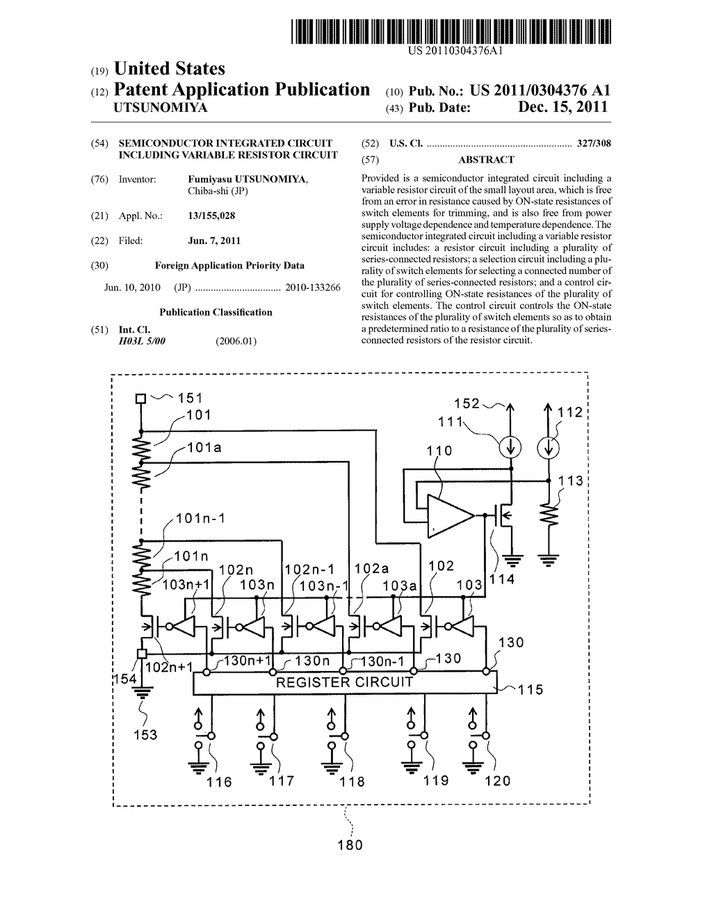 Semiconductor Integrated Circuit Including Variable Resistor Diagram Schematic And Image 01