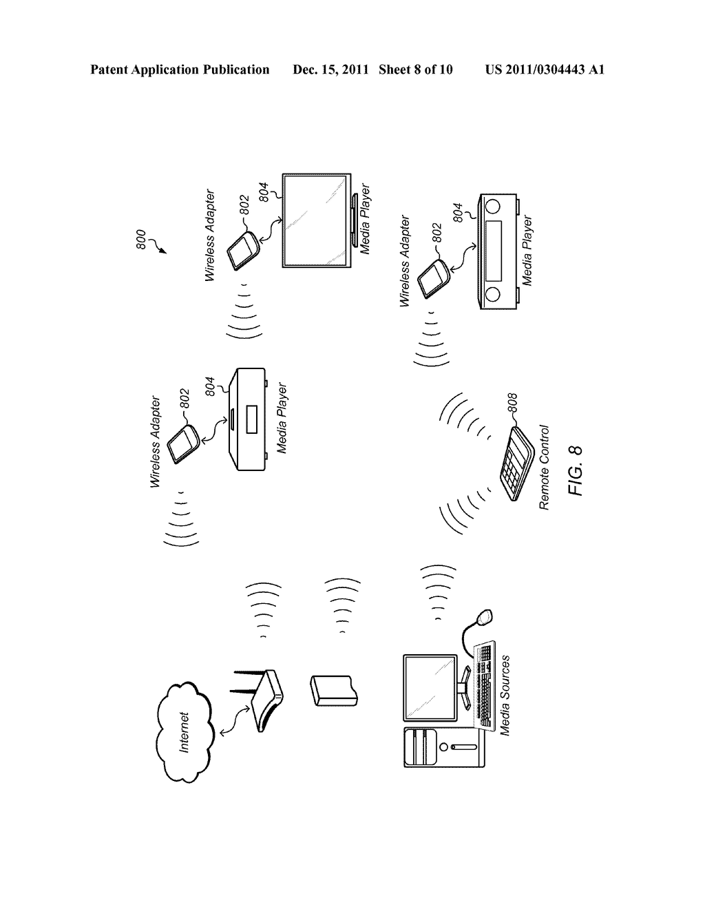 Systems and Methods for Operating Media Devices - diagram, schematic, and image 09