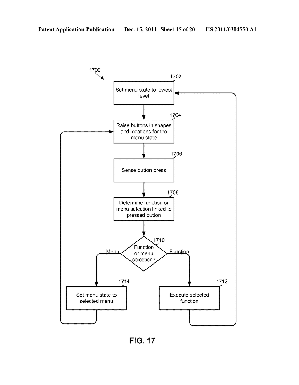 AUTO-MORPHING ADAPTIVE USER INTERFACE DEVICE AND METHODS - diagram, schematic, and image 16