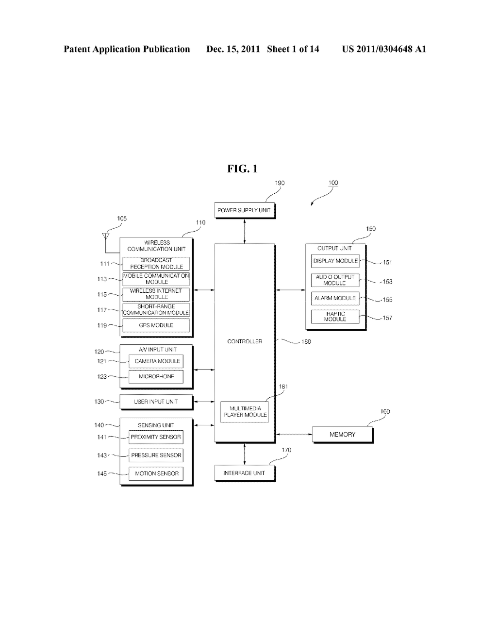 MOBILE TERMINAL AND METHOD FOR OPERATING THE MOBILE TERMINAL - diagram, schematic, and image 02