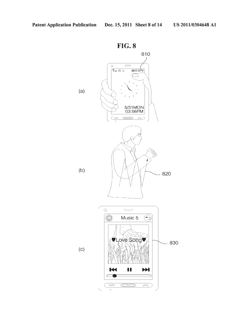 MOBILE TERMINAL AND METHOD FOR OPERATING THE MOBILE TERMINAL - diagram, schematic, and image 09