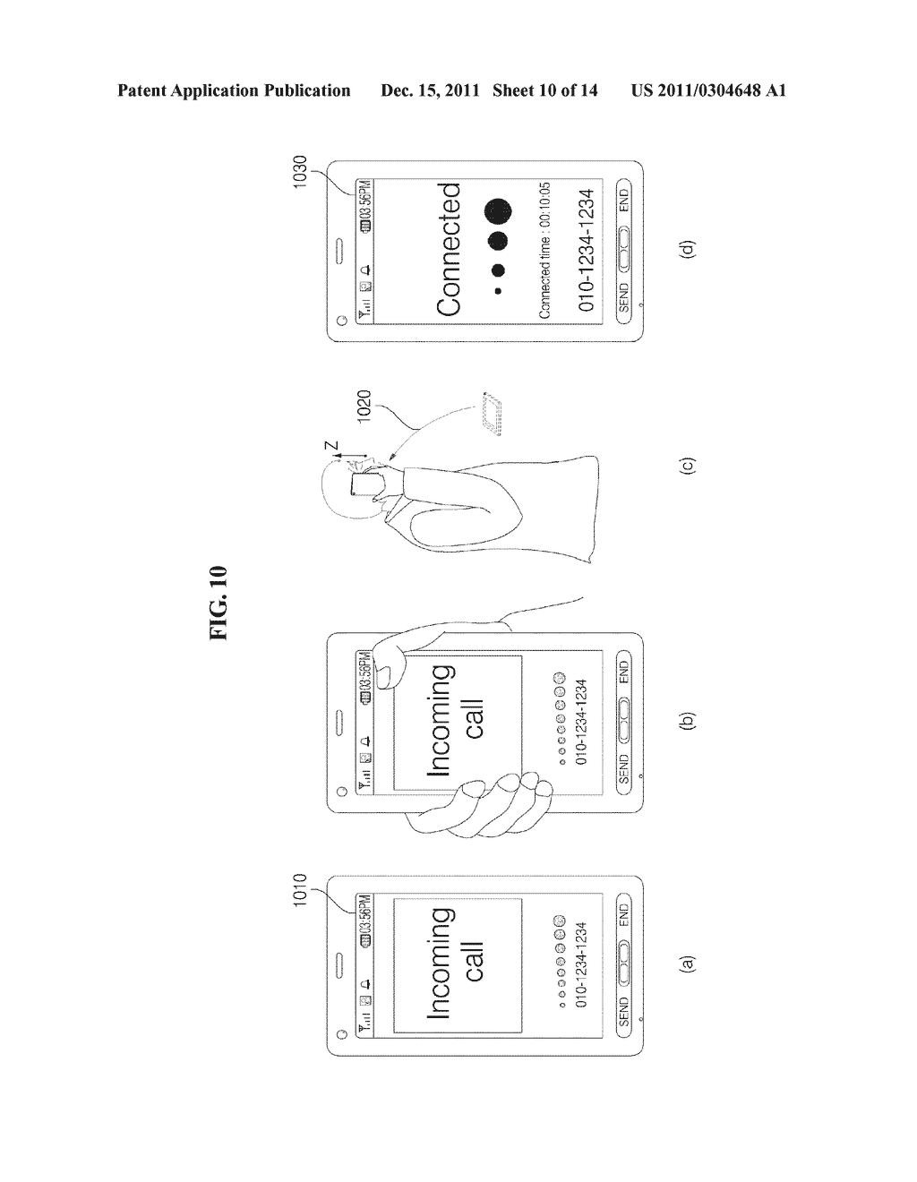 MOBILE TERMINAL AND METHOD FOR OPERATING THE MOBILE TERMINAL - diagram, schematic, and image 11