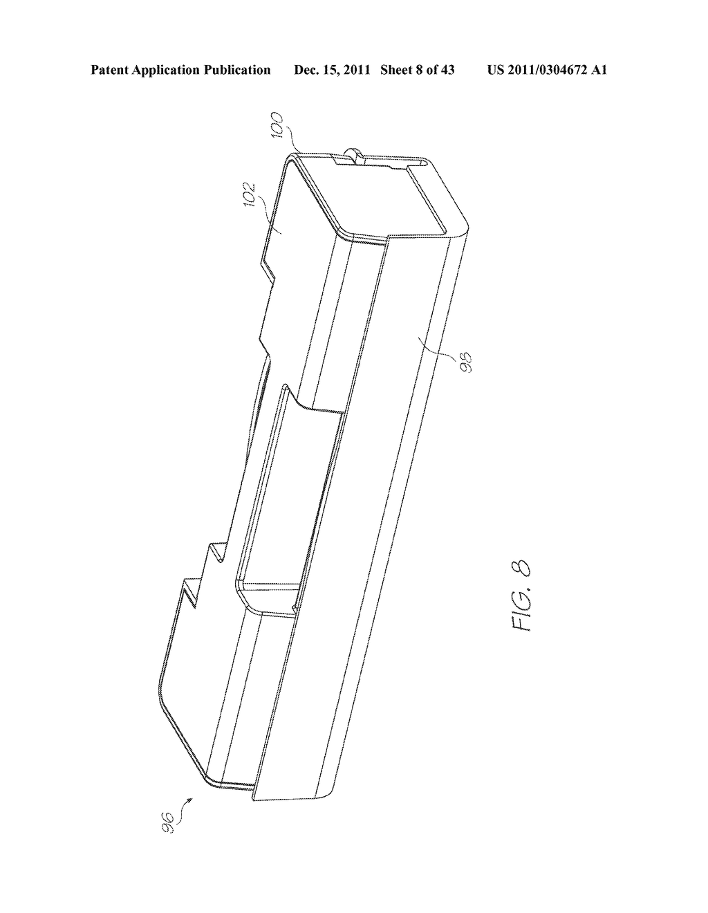 PRINTHEAD ASSEMBLY WITH MOLDED INK MANIFOLD HAVING POLYMER COATING - diagram, schematic, and image 09