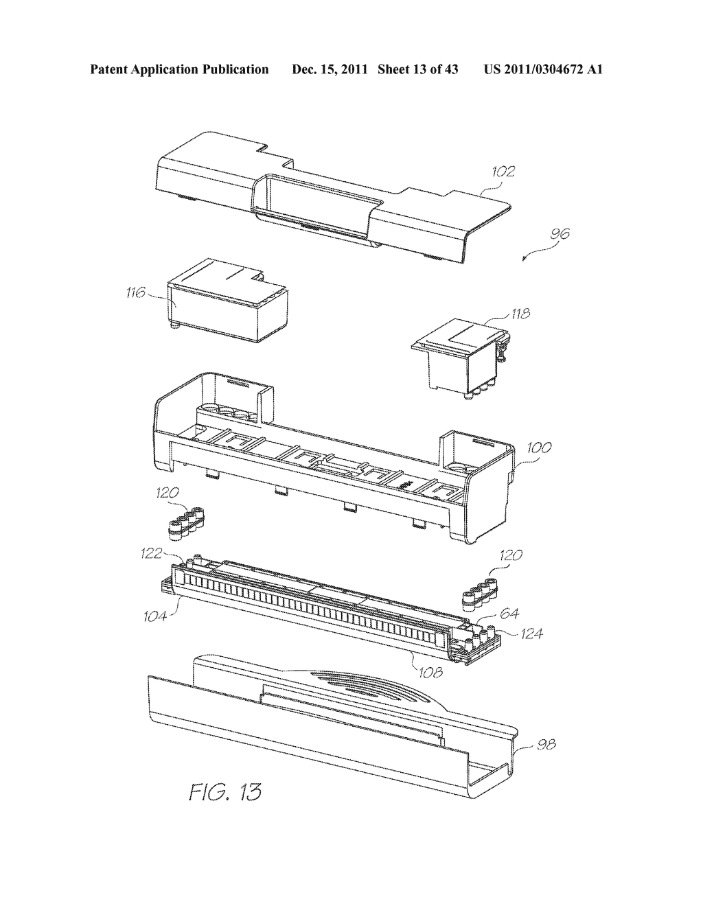 PRINTHEAD ASSEMBLY WITH MOLDED INK MANIFOLD HAVING POLYMER COATING - diagram, schematic, and image 14