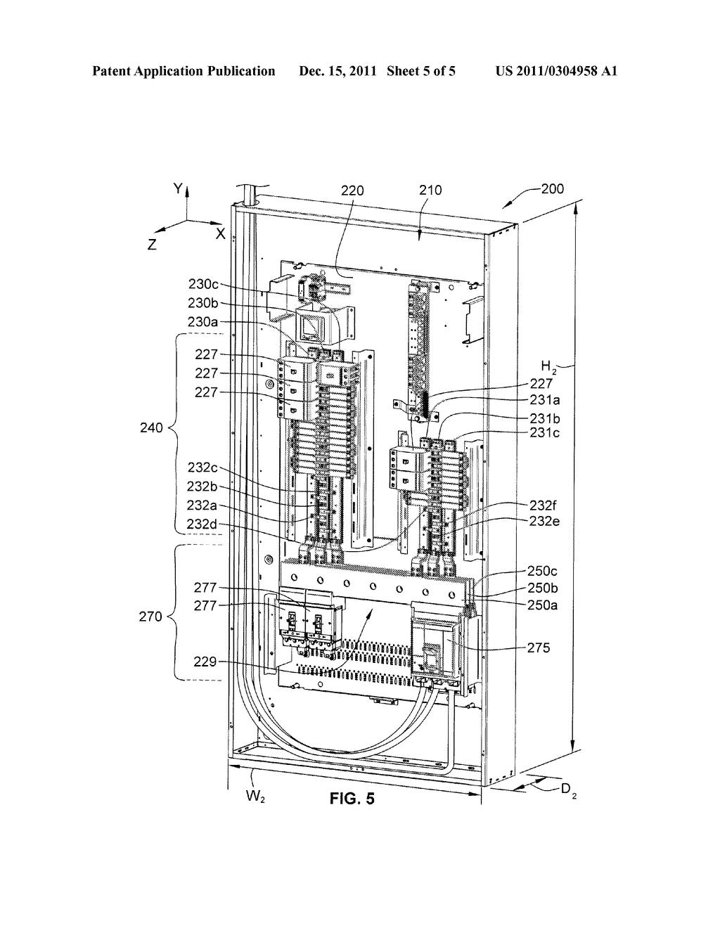 high density power lighting panelboard diagram schematic and rh patentsencyclopedia com