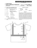 GARMENT WITH A RETROREFLECTIVE AND ELECTROLUMINESCENT ARTICLE diagram and image