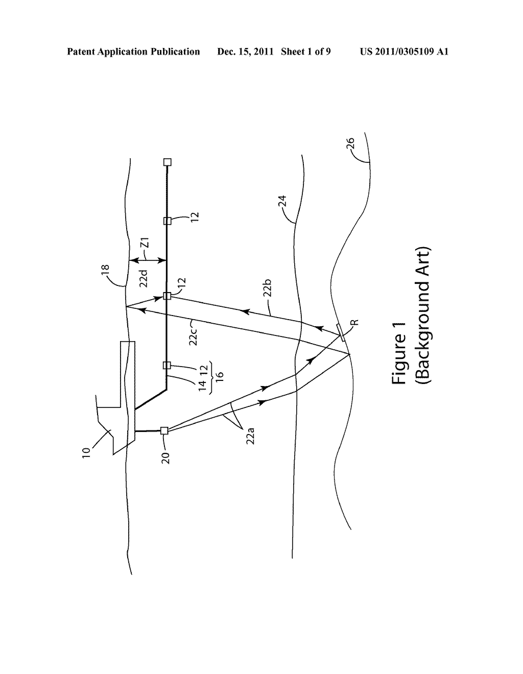 METHOD AND APPARATUS FOR DEGHOSTING SEISMIC DATA - diagram, schematic, and image 02