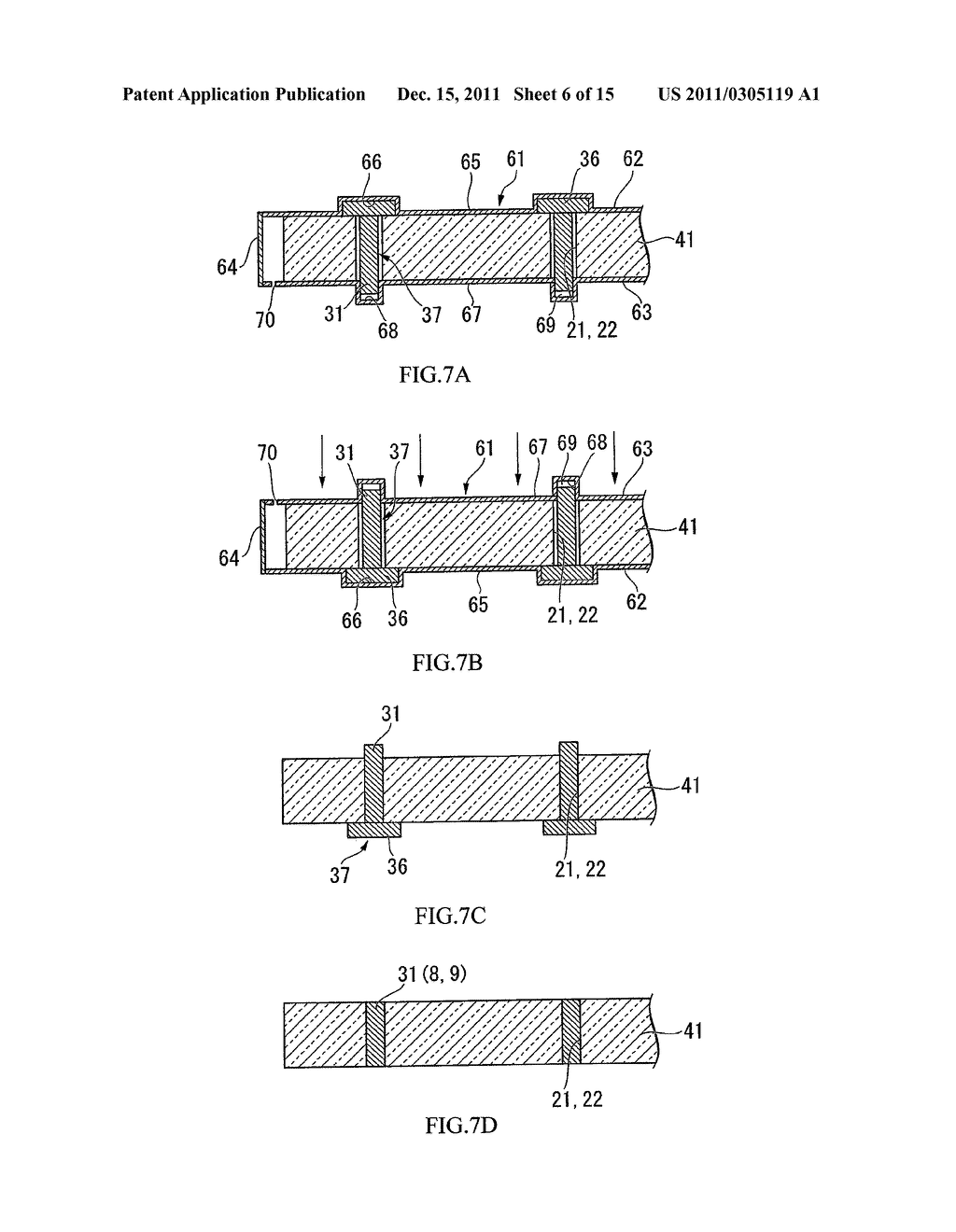 PACKAGE MANUFACTURING METHOD, PIEZOELECTRIC VIBRATOR MANUFACTURING METHOD,     OSCILLATOR, ELECTRONIC DEVICE AND RADIO TIMEPIECE - diagram, schematic, and image 07