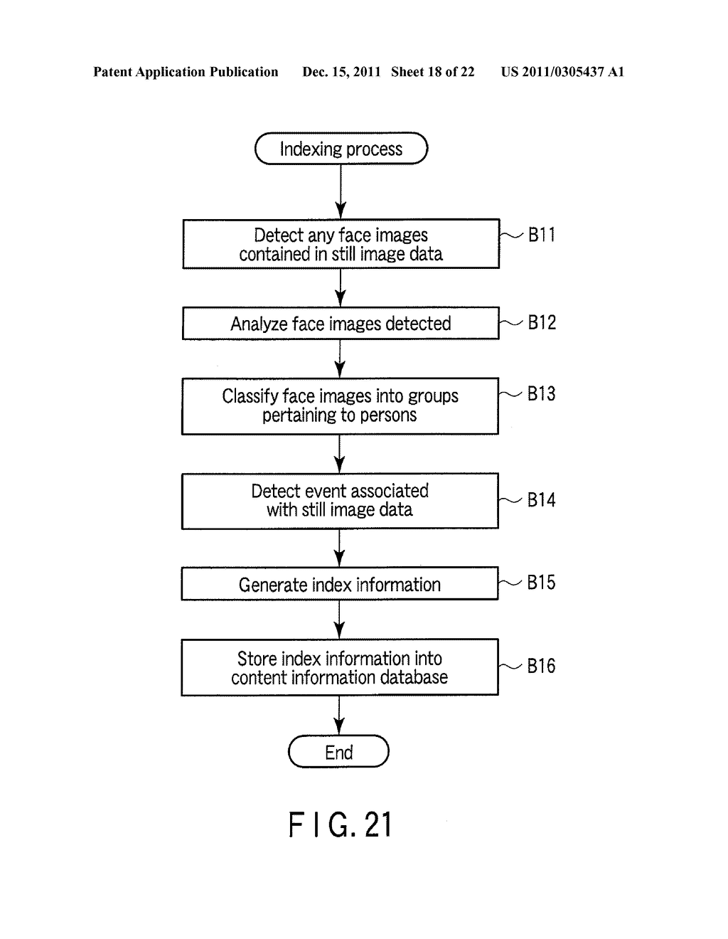 ELECTRONIC APPARATUS AND INDEXING CONTROL METHOD - diagram, schematic, and image 19