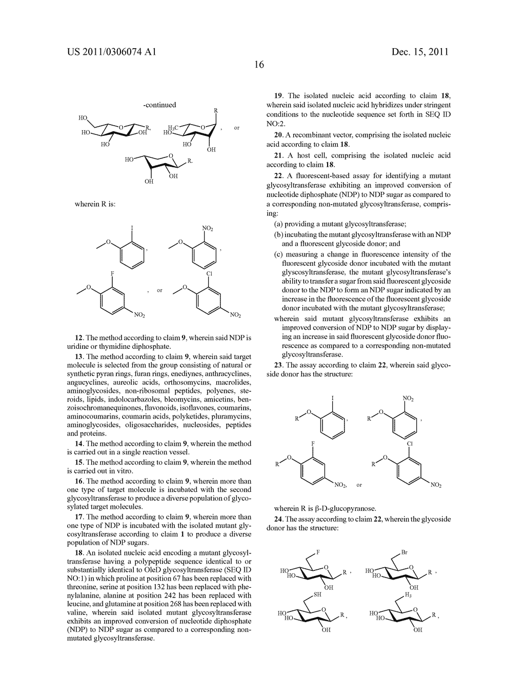 GLYCOSYLTRANSFERASE REVERSIBILITY FOR SUGAR NUCLEOTIDE SYNTHESIS - diagram, schematic, and image 30