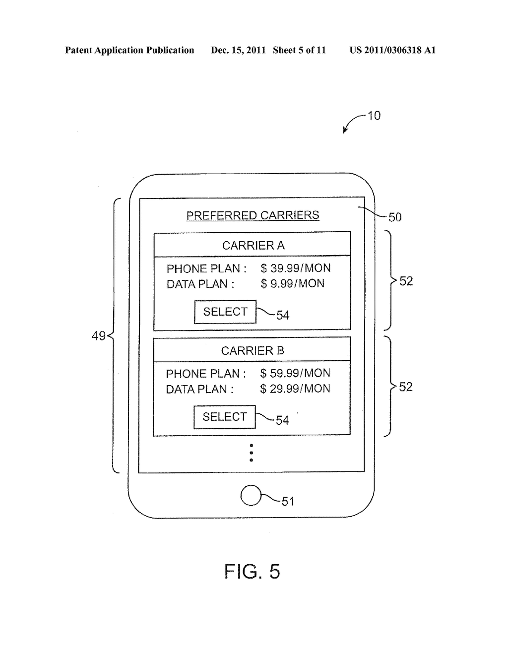 APPARATUS AND METHODS FOR PROVISIONING SUBSCRIBER IDENTITY DATA IN A     WIRELESS NETWORK - diagram, schematic, and image 06