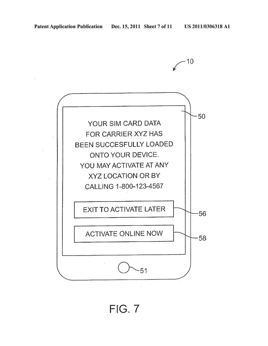 APPARATUS AND METHODS FOR PROVISIONING SUBSCRIBER IDENTITY DATA IN A     WIRELESS NETWORK - diagram, schematic, and image 08
