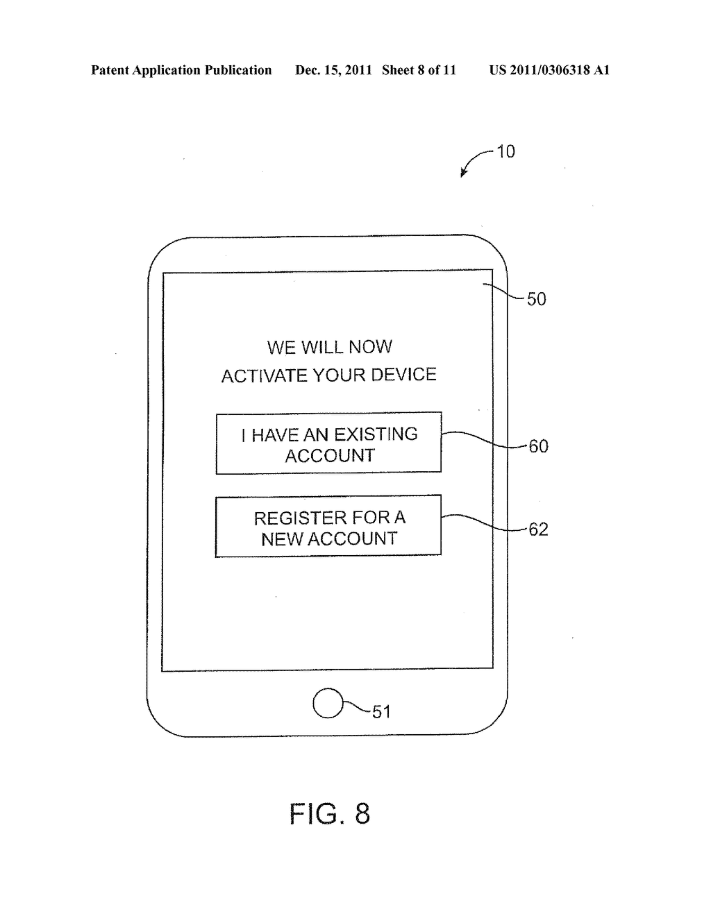 APPARATUS AND METHODS FOR PROVISIONING SUBSCRIBER IDENTITY DATA IN A     WIRELESS NETWORK - diagram, schematic, and image 09