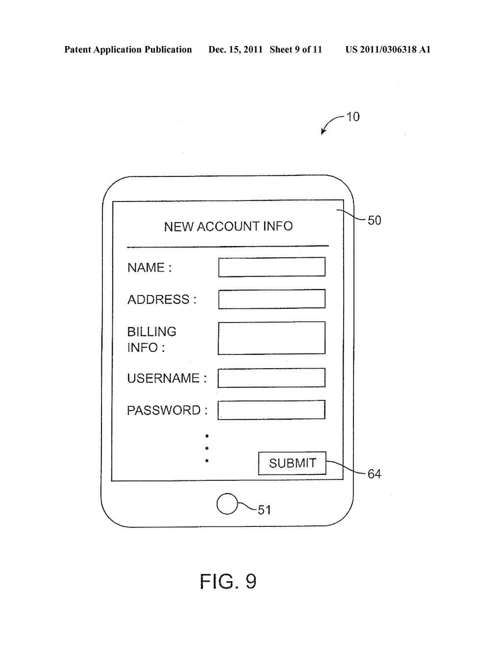 APPARATUS AND METHODS FOR PROVISIONING SUBSCRIBER IDENTITY DATA IN A     WIRELESS NETWORK - diagram, schematic, and image 10