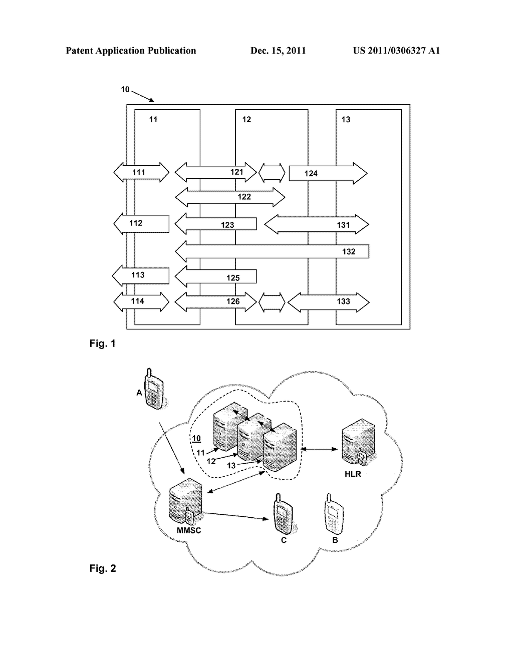 Method for forwarding multimedia messages in a public land mobile network,     the handling of a short message, Core Network for forwarding multimedia     messages in a public land mobile network, and Unit providing a multimedia     message forwarding function in a Core Network - diagram, schematic, and image 02