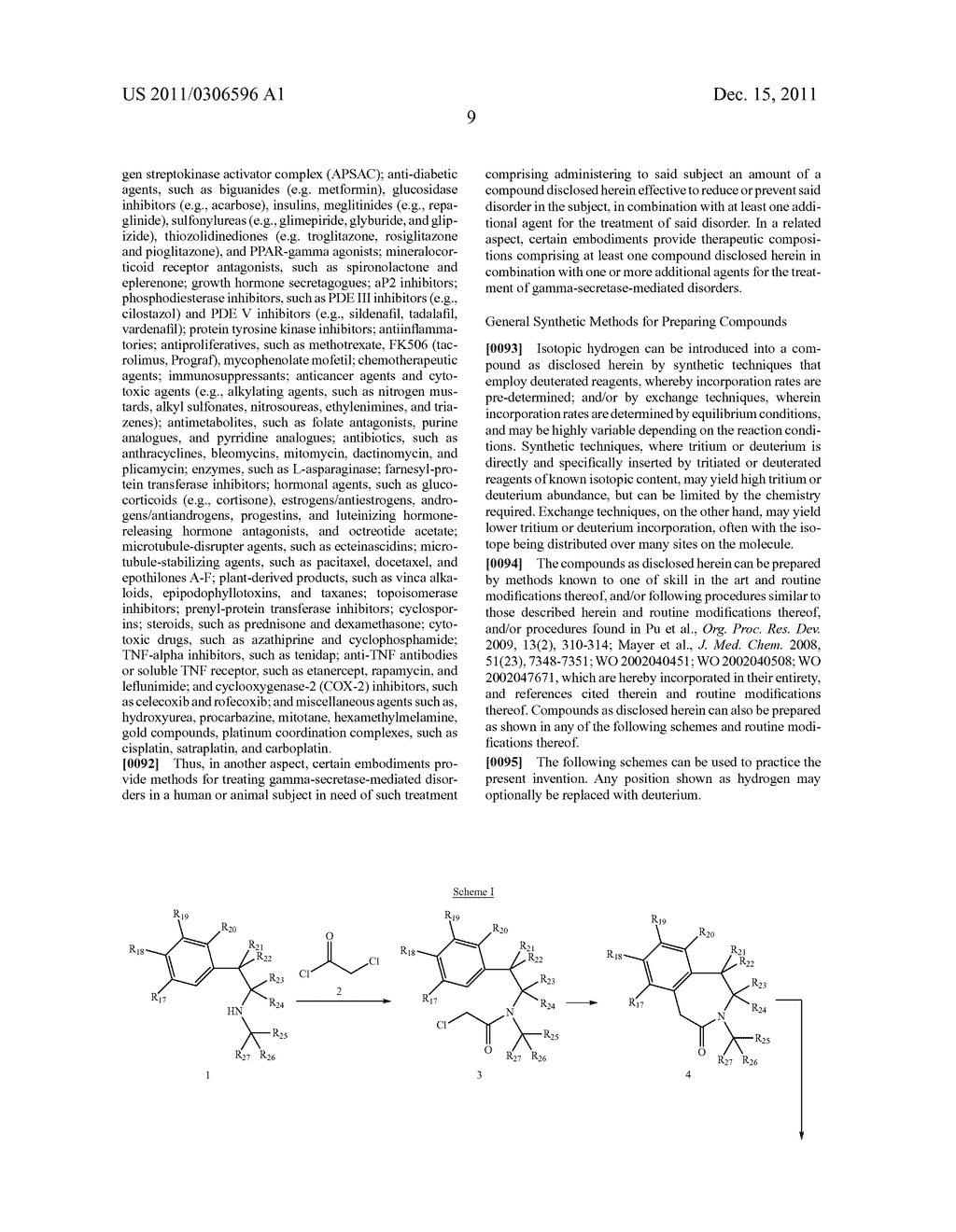 BENZAZEPINE INHIBITORS OF GAMMA-SECRETASE - diagram, schematic, and image 10