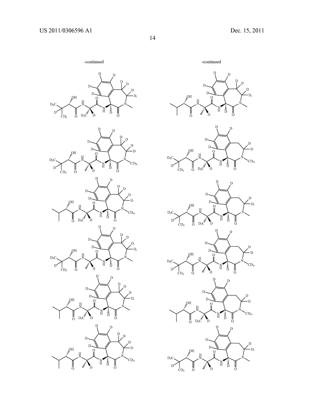 BENZAZEPINE INHIBITORS OF GAMMA-SECRETASE - diagram, schematic, and image 15