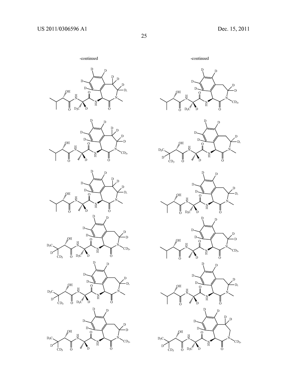 BENZAZEPINE INHIBITORS OF GAMMA-SECRETASE - diagram, schematic, and image 26