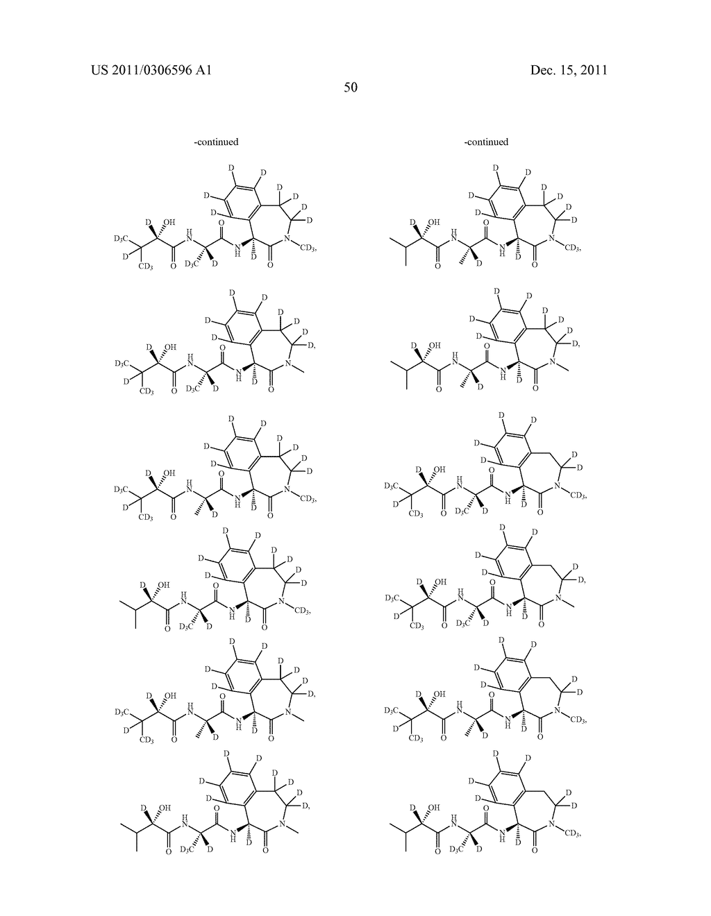 BENZAZEPINE INHIBITORS OF GAMMA-SECRETASE - diagram, schematic, and image 51