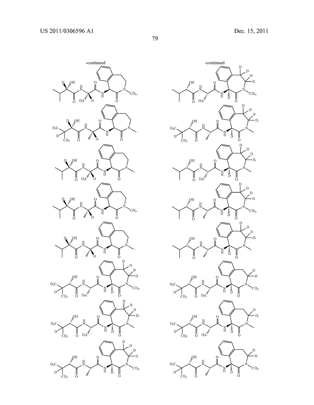 BENZAZEPINE INHIBITORS OF GAMMA-SECRETASE - diagram, schematic, and image 80
