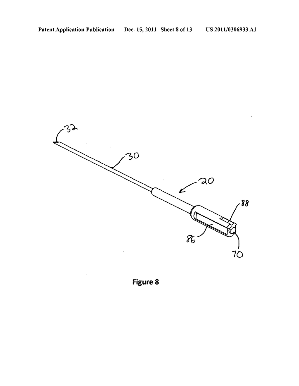Safety cannula with automatic retractable needle - diagram, schematic, and image 09