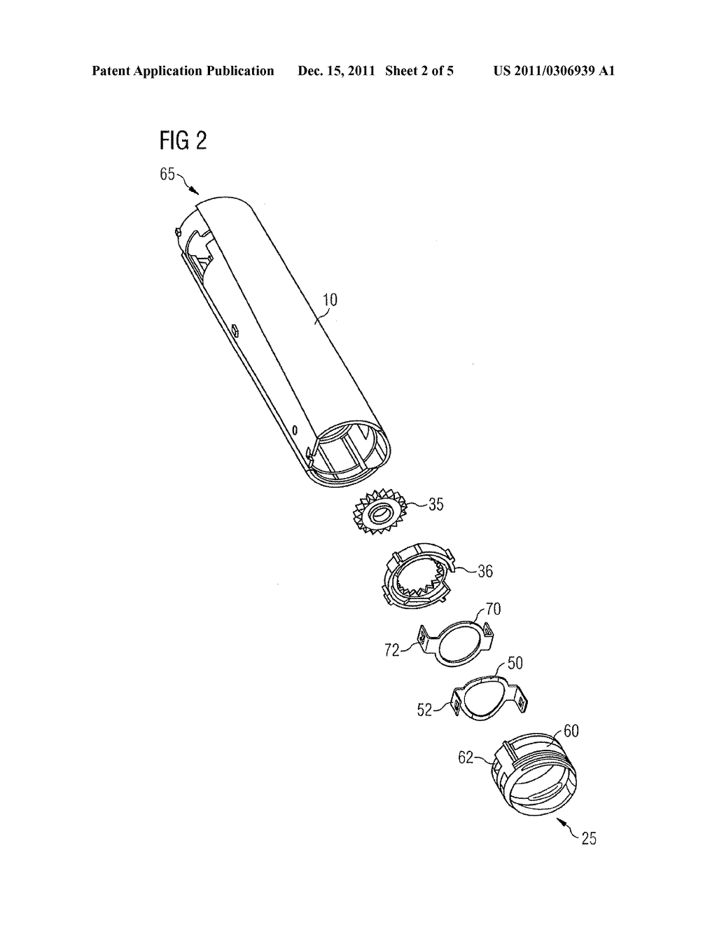 DRUG DELIVERY DEVICE AND METHOD OF MANUFACTURING A DRUG DELIVERY DEVICE - diagram, schematic, and image 03