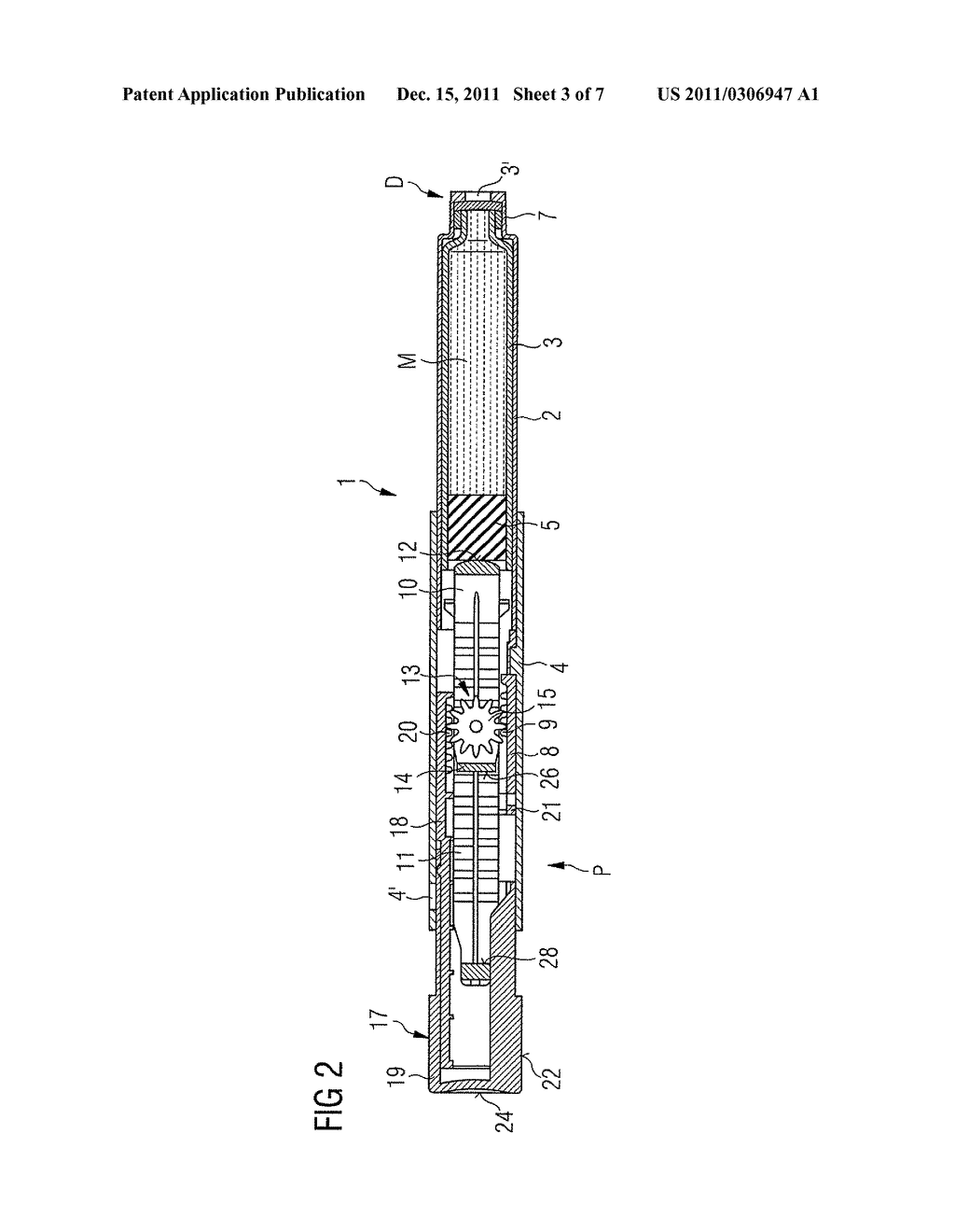 MEDICATION DELIVERY DEVICE AND METHOD FOR OPERATING A MEDICATION DELIVERY     DEVICE - diagram, schematic, and image 04