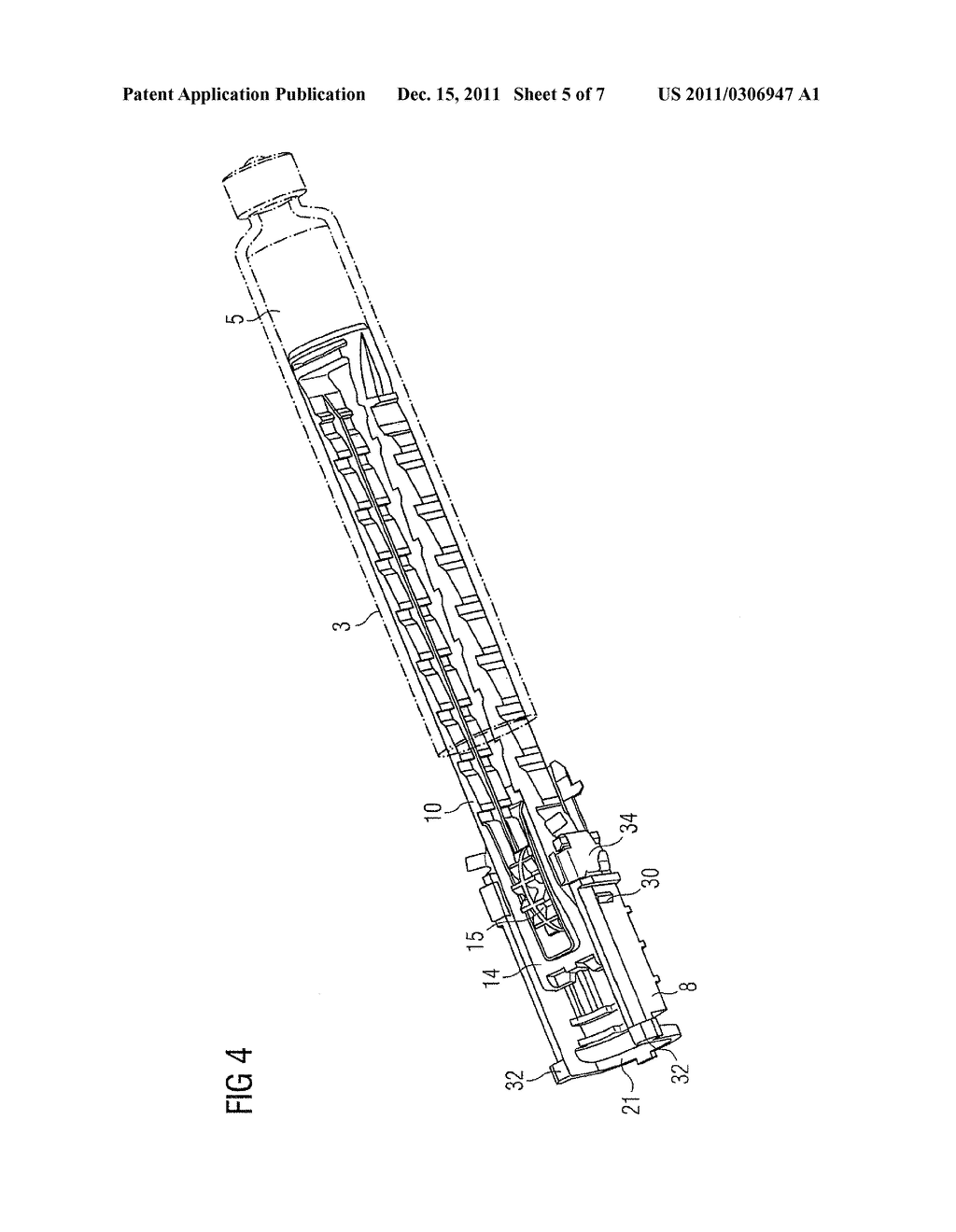 MEDICATION DELIVERY DEVICE AND METHOD FOR OPERATING A MEDICATION DELIVERY     DEVICE - diagram, schematic, and image 06