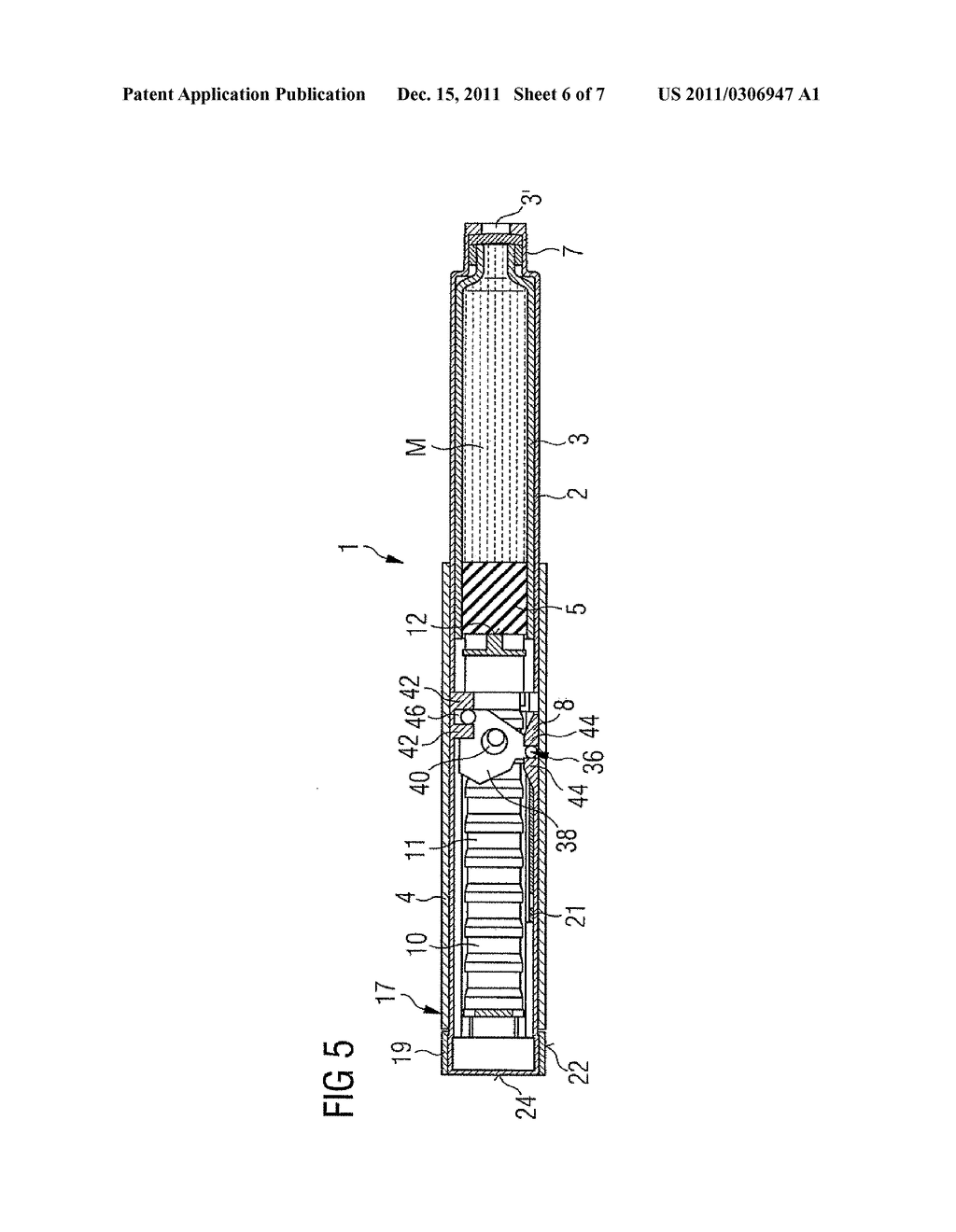 MEDICATION DELIVERY DEVICE AND METHOD FOR OPERATING A MEDICATION DELIVERY     DEVICE - diagram, schematic, and image 07